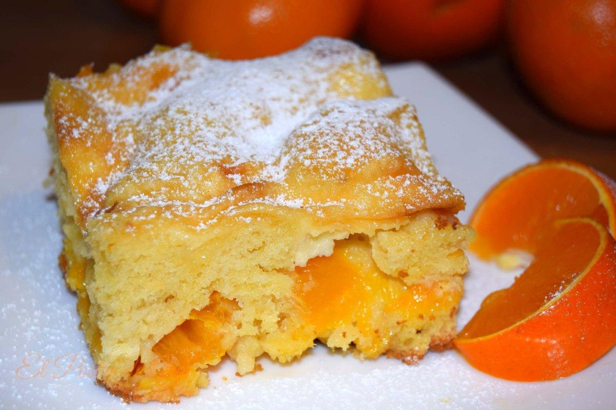 Pastel de mandarina ymascarpone