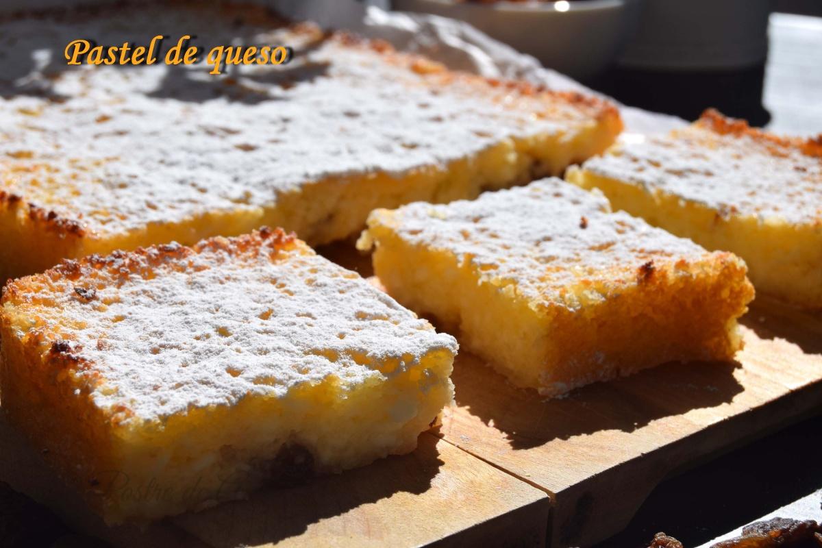 Pastel de quesoblanco